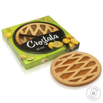 Пирог песочный Сrostata Лимон 370г - купить, цены на Novus - фото 1