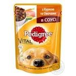 Pedigree With Chicken And Vegetables For Dogs Food