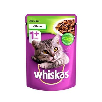 Whiskas With Lamb Meat In Jelly For Cats Food - buy, prices for Tavria V - image 1