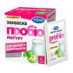 Закваска бактериальная Vivo Пробио йогурт сухая в пакетиках 4шт*1г