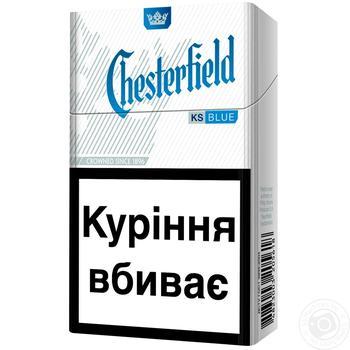 Сигареты Chesterfield Blue