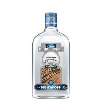 Nemiroff Nemirivska wheat ukrainian selected vodka 40% 0.5l - buy, prices for CityMarket - photo 1