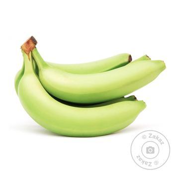 Банан зелений