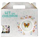 Набір посуду GgP для дівчат порцеляновий дитячий - купити, ціни на Ашан - фото 2