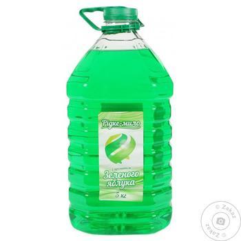 Мыло жидкое c ароматом зеленого яблока 5кг - купить, цены на Таврия В - фото 1