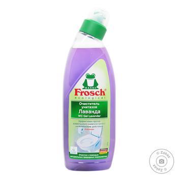 Средство для унитаза Frosch Лаванда 750мл - купить, цены на Novus - фото 1