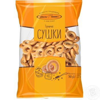 Сушки Киевхлеб горчичные 400г Украина - купить, цены на Фуршет - фото 3
