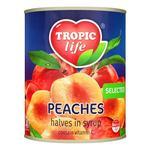 Персик Tropic life половинки в сиропе 850мл