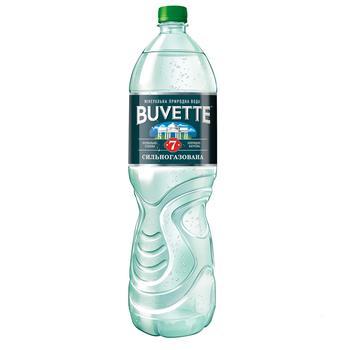 Вода Buvette №7 минеральная сильногазированная 1,5л