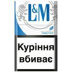Цигарки L&M Blue Label 20шт
