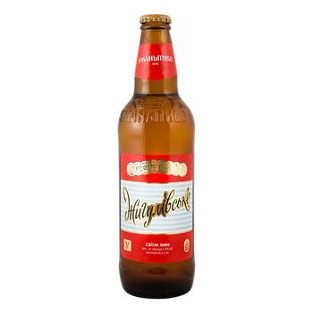 Пиво Уманьпиво Жигулівське світле 4,2% 0,5л - купити, ціни на Фуршет - фото 1