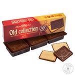 Печенье Бисквит Шоколад Old Collection с горьким шоколадом 150г