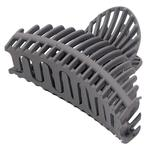 Dini Matte Style Comb Braided Gray Hairpin Crab For Hair d-750