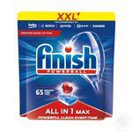 Таблетки Finish Powerball для посудомийних машин 65шт