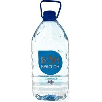 Still natural mineral water Bon Boisson 5l - buy, prices for Furshet - image 1