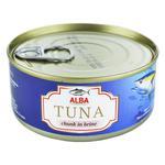 Тунець Alba Food цілий у власному соку 150г