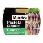 Паштет рыбный MerSea со скумбрией пастеризованный 160г