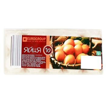 Eurogroup Chicken Eggs 10pc