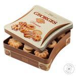 Печенье Бисквит Шоколад Georges Premium ж/б набор 350г