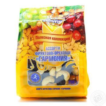 Асорті фруктово-горіхове Santa Vita Гармонія 200г - купити, ціни на Ашан - фото 2