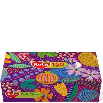 Салфетки  Рута косметические 20х21см 150шт - купить, цены на Восторг - фото 1