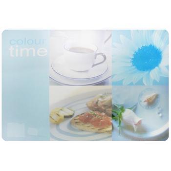 Коврик под тарелку Axentia Завтрак пластиковая 43х29см в ассортименте - купить, цены на МегаМаркет - фото 1