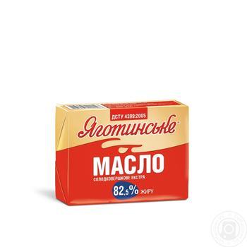 Масло сладкосливочное экстра 82.5% Яготинське 200г - купить, цены на Ашан - фото 2
