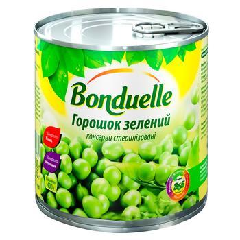 Горошок Бондюель зелений консервований 425мл - купити, ціни на ЕКО Маркет - фото 1