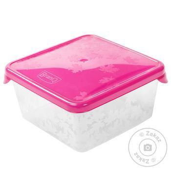 Емкость для морозилки BranQ Rukkola квадратная 0,45л шт - купить, цены на Фуршет - фото 1