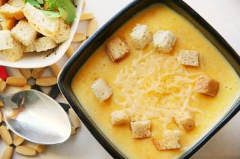 Суп із плавлених сирків