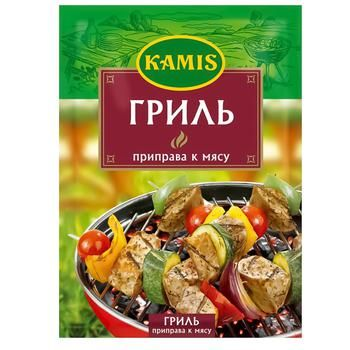 Приправа Kamis Гриль для м'яса 25г