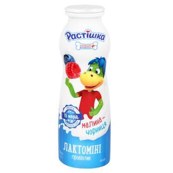 Йогурт Растишка Лактомини малина-черника 1,5% 160г