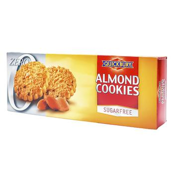 Печенье Quickbury миндальное без сахара 145г - купить, цены на Космос - фото 1