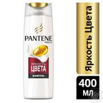 Шампунь Pantene Pro-V Яскравість кольору для фарбованого волосся 400мл - купити, ціни на Метро - фото 2
