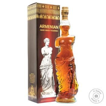 Proshyan Brandy Factory Aphrodite 5 yrs cognac 40% 0,5l - buy, prices for Novus - image 1