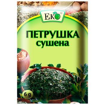 Петрушка Эко сушеная 6г - купить, цены на Ашан - фото 1