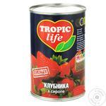 Клубника Tropic life в сиропе 425мл