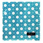 Салфетки Tissueclub бумажные трехслойные бирюзовые 33х33см 20шт