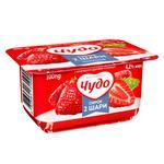 Cottage cheese Chudo strawberry 4.2% 4x115g Ukraine