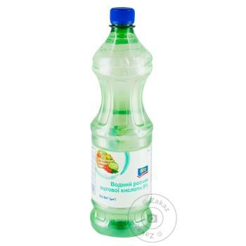 Водний розчин Aro оцтової кислоти 9% - купити, ціни на Метро - фото 1