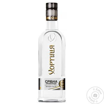 Khortytsia Vodka Silver cool 40% 375ml - buy, prices for CityMarket - photo 5