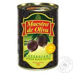 Maestro de Oliva with bone black olive 425g - buy, prices for MegaMarket - image 1