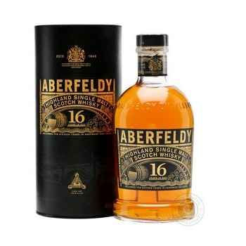 Aberfeldy whiskey 16 years 0,7l in tube - buy, prices for Novus - image 2