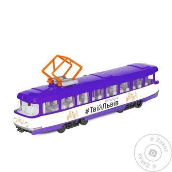 Techno Park Inertial City Tram Toy