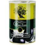 Маслины Olive Line огромные с косточкой 420г
