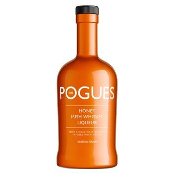 Ликер Pogues Honey Irish Whiskey 35% 0,7л - купить, цены на СитиМаркет - фото 1