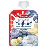 Puree Semper blueberry for children from 6 months 90g doypack