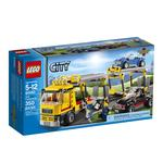 Конструктор Лего Сити таун Транспорт для перевозки автомобилей для детей от 5 до 12 лет 350 деталей