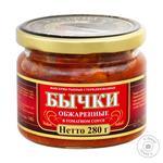Бычки Riga Gold обжаренные в томатном соусе 280г