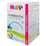 Детская сухая молочная смесь HiPP Combiotiс №2 с 6 месяцев 900г